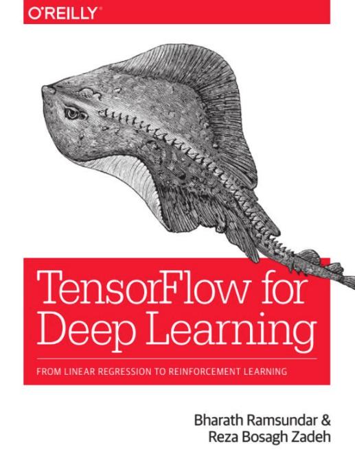 Tensorflow book - front